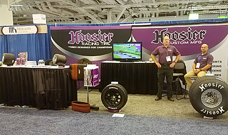 Visit Hoosier Racing Tire Corp. in Booth No. 534 at the 2018 International Elastomer Conference, featuring its racing and specialty tires and services, including calendering, rubber mixing, components and engineering/testing services.