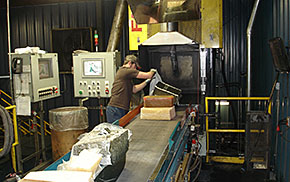 Rubber mixing from Hoosier Custom Manufacturing
